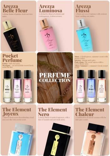 Hemani Herbals Perfume collection