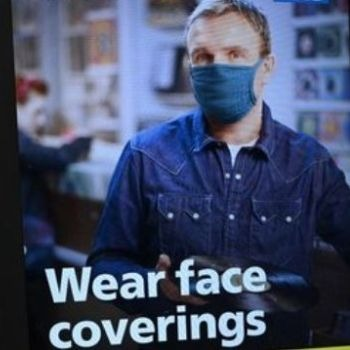 COVID1-9 and Wear face mask from UK star