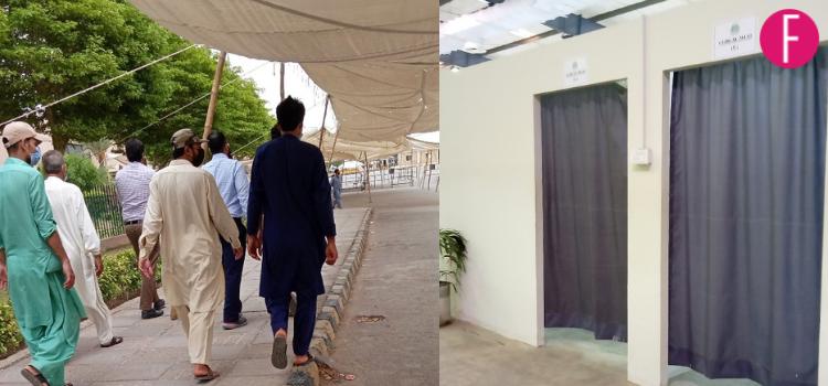 covid-19, vaccination, expo centre Karachi