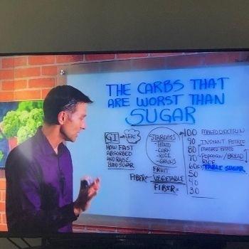 Dr,Eric Berg Insulin Resistance & Weight Loss Carbs worse than Sugar