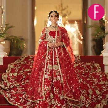 Iqra Aziz in SFK Bridals for KAM3