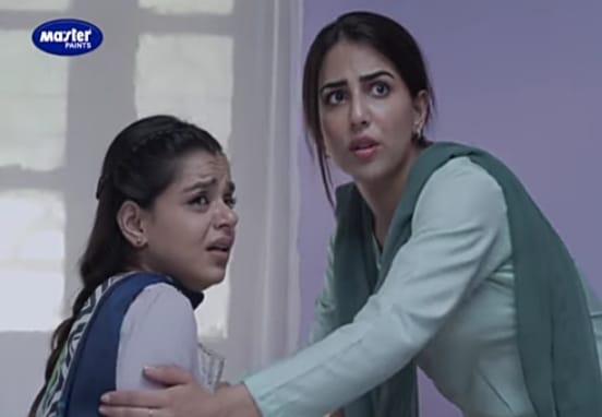 srha asgr as fajar in aakhir kab tak, ushna shah as noor, aakhir kab tak drama, hum tv