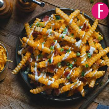 Kitchen diaries, recipes, loaded fries