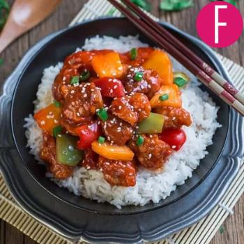 sweet and sour chicken, recipe