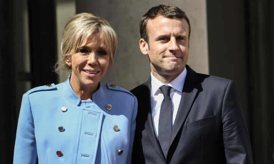 French President and Wife