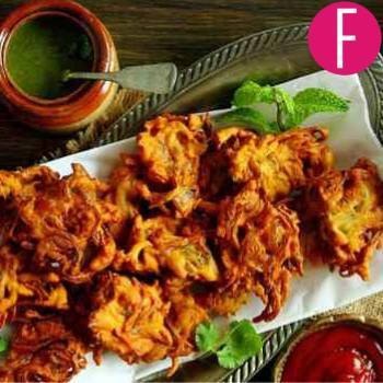 pakora recipe, rain, comfort food pakoray