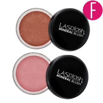 LA Splash blush, mineral blush, makeup must haves