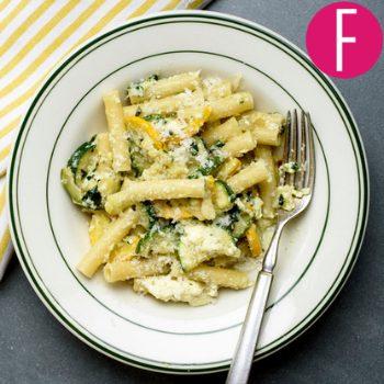 quick pasta recipe, summer recipe