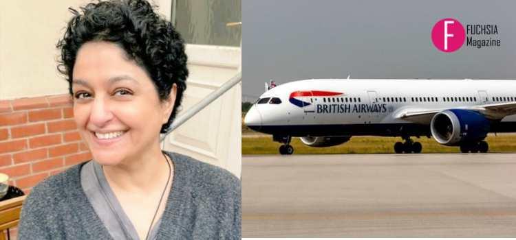 nadia jamil, british airways