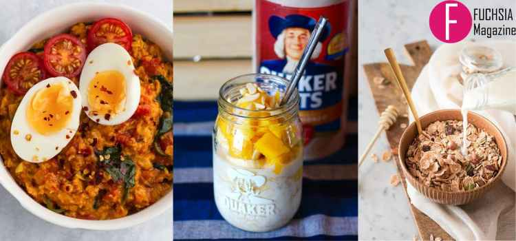 Oats recipes for quick and healthy breakfast