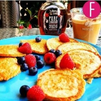 oat pancakes, homemade, recipe