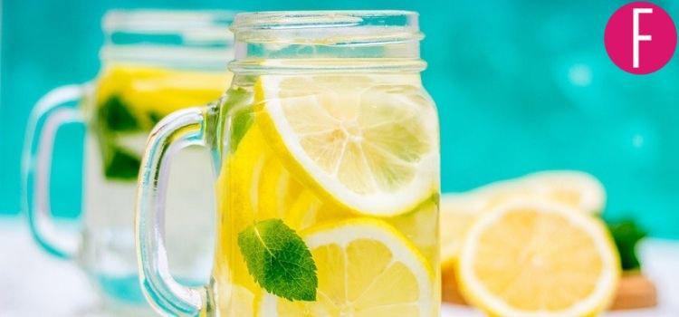 7 Reasons Why Drinking Lemon Water Is Healthy!