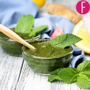 mint paste, for skin, chinese skin care