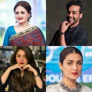 actors of the week, asma abbas, gohar rasheed, dur e fishan, ayeza khan