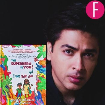 Shehzad Roy Addresses Child Abuse On The Book Launch Of The Superhero Is You!